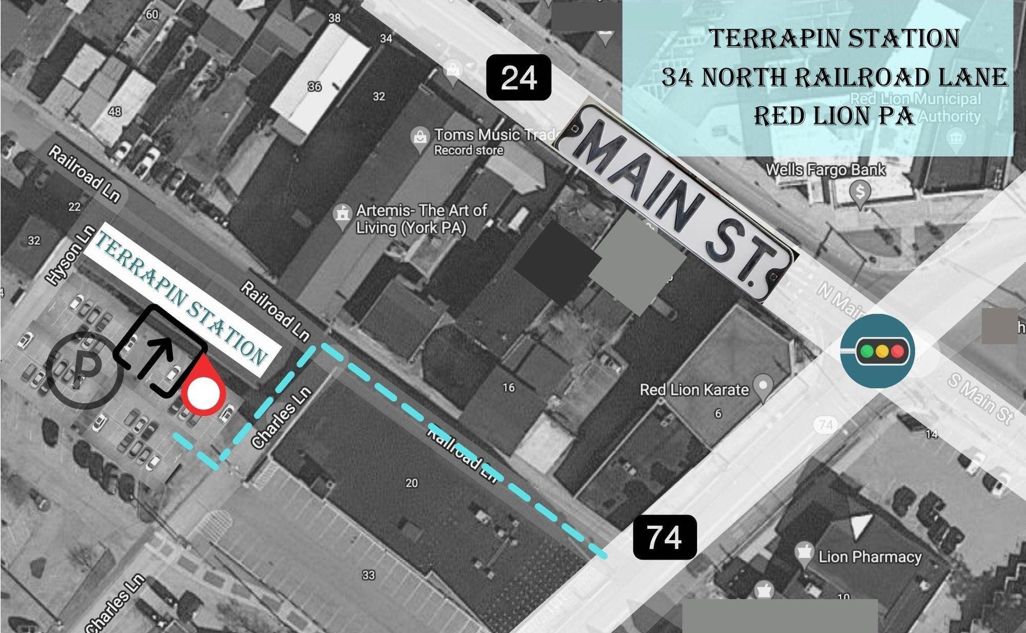 terrapin station parking